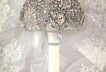 Blingy bridal boudoir