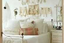 Lingerie Decor / How to display your lingerie collection and decorate with lingerie.