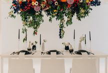 Styled Shoot // Monochrome Colourburst / Wedding Inspiration, Wedding Flowers, Wedding Table, Bride & Groom