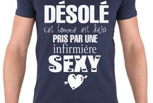 Tee-shirt Saint Valentin / t-shirt humour français amour