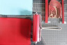 Farben und Drucke