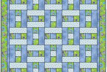 hopscotch 3 fabric quilt