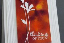 Cards- Thinking of you, condolences