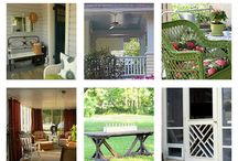 PORCH DECOR / by Marcy