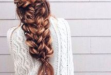 Hairstyles / Includes easy to make #hairstyles that are not time consuming.