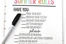 Summer kids time