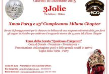 XMAS Party 2015 / XMAS PARTY & 25mo compleanno Milano Chapter