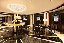 Graff Diamonds / Lolli e Memmoli lights make diamonds shine in the elegant GRAFF jewelleries.  The Peninsula Hotel - Hong Kong