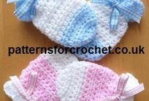 crocheting baby stuff