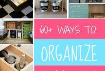 Home Organization  / by Tiffany Estep