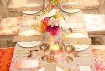 tables & decorations / celebrations