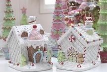 Gingerbread house village :) / by Margaret Brewer