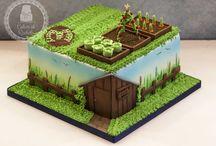 Garden Cakes/Dorty se zahradní tématikou
