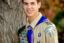Eagle Scout senior Portraits