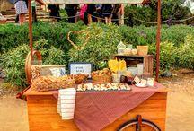 Mallol Catering durante catering de boda / Algunas fotos de los cáterings de bodas que ha realizado Mallol Cátering.