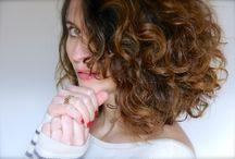 cheveux bouclé / soins de la peau