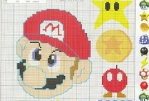 Cross Stitch-Video Games / by Donna Carlino