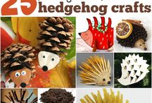 Fall Craft for Children / Collection of creative crafts for kids. Kids will fall in love with them.
