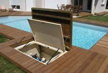 piscinas con deck