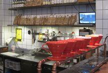 produkter og løsninger som fyller brand coworking/cafe