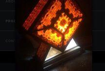 Juhi Artz / Pinewood lamps