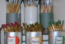 Art room organization