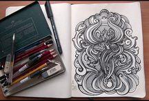 Sketchbook / by MaKenna Johnson