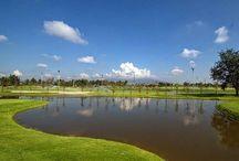チェンマイのゴルフ場 / 素晴らしいゴルフ場。どこもビアンブアマンションで手配できます。フロントスタッフにお申し付けください