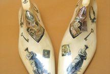 Манекены и обувные колодки