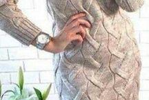 πλεκτο φορεμα