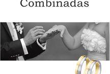 Alianzas Combinadas / Colección alianzas boda combinadas con diferentes colores , texturas y formas.