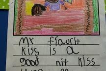 2nd Grade Writing / by Hayley Dorothy Sumblin Sasser