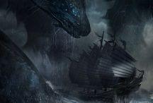 Драконы и чудовища