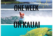 One Week On Kauai / Planning on spending a week on Kauai? Use our guides to help experience the perfect vacation for your travel persona!