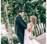 Hochzeiten / Hochzeitstportraits und Hochzeitsreportagen von uns fotografiert und bearbeitet