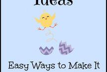 Ideias para organização de festas