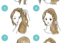 peinados comunes