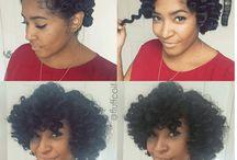 Idée de coiffures cheveux crépus