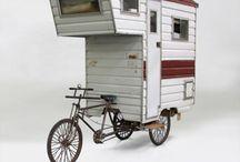 casa sulla bicicletta