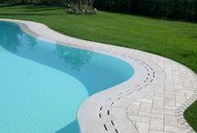 Piscinas / Mármol para piscinas, bordillos, revestimiento, etc