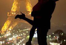 Tom & Carrie do Paris