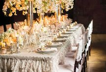 Linens / Beautiful tablecloths for wedding events