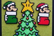 Perler christmas