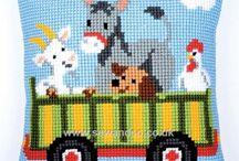 Animal Cross Stitch / Cross stitch charts & kits we love, featuring animals of all kinds