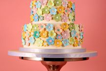 Flower cakes / by Darlene - Make Fabulous Cakes