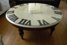 PROJECT: Clock coffee table