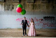 Up and Away - Balloon Wedding Theme