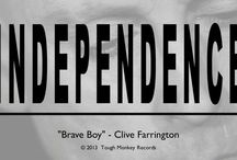 """Clive Farrington - Independence / Clive Farrington (of 'When In Rome' fame) has released a new solo album - """"INDEPENDENCE"""".  Download on iTunes: https://itunes.apple.com/gb/album/independence/id670306586  Jon Brooks and Clive Farrington have launched their own record label - Tough Monkey Records (TMR)."""