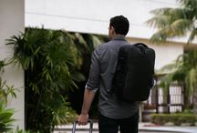 VIA Travel Collection / The VIA Travel Collection is a family of premium luggage pieces offering maximum capacity storage and essential tech integration, for long duration getaways, everywhere.