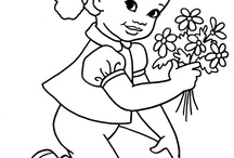 Coloring Pages / by Stephanie Eberhart